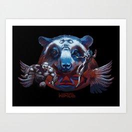 Spectacled Bear Art Print
