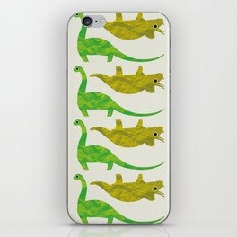 Paper Dino iPhone Skin