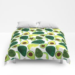 Avocados Comforters