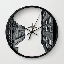 City Calm Down Wall Clock