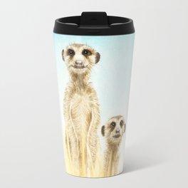 Curios Meerkats Travel Mug