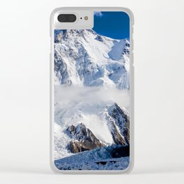 American Mountain Clear iPhone Case