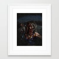 zombies Framed Art Prints featuring Zombies!! by Shyniester