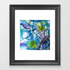 Hues of Blue Framed Art Print