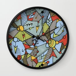 Happenings Wall Clock