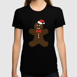 Christmas Gingerbread Man T-shirt