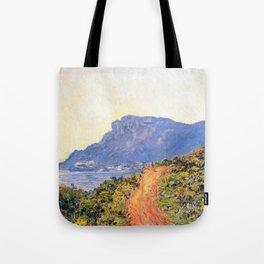 12,000pixel-500dpi - Claude Monet - The Corniche near Monaco - Digital Remastered Edition Tote Bag