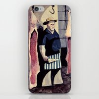 butcher billy iPhone & iPod Skins featuring The Butcher by Ana Elisa Granziera
