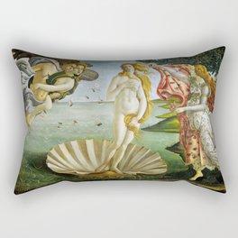 The Birth of Venus, Sandro Botticelli Rectangular Pillow