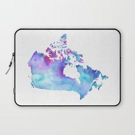 Canada Map Laptop Sleeve