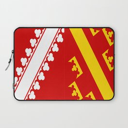 flag of alsace Laptop Sleeve