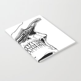 Skull #2 (Liquify) Notebook