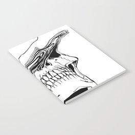 Skull (Liquify) Notebook