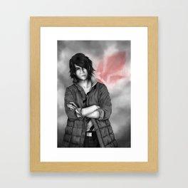 Mikazuki - Iron Blooded Orphans Framed Art Print