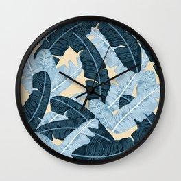 BANANA LEAVES 4 Wall Clock