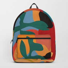Get lost in nature and you will find yourself  #art print #abstract art Backpack