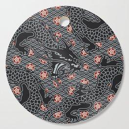 Hidden Dragon / Oriental dragon design Cutting Board
