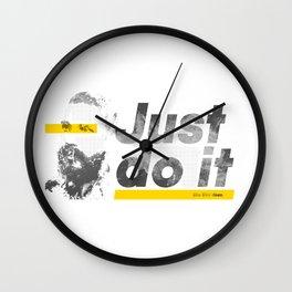 Just do it like Shia does Wall Clock