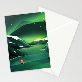 Sailing home Stationery Cards