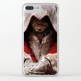 Assassins Creed - Ezio Auditore Clear iPhone Case