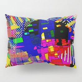 Yarn Bomb Pillow Sham