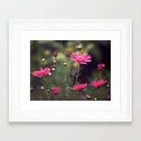 confetti Framed Art Prints featuring confetti by Monica Ortel ❖