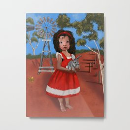 Alice down under Metal Print