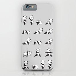 Yoga Bear - Panda iPhone Case