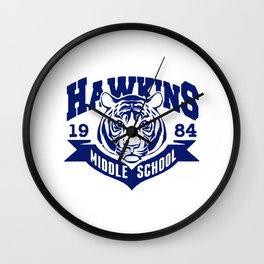 Hawkins Middle School Tigers Wall Clock