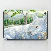 minnesota iPad Cases featuring Minnesota Wolves by MelanieLehnen
