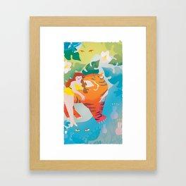 The Tyger Part 3 Framed Art Print