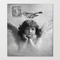 Memories of Paris-vintage Canvas Print
