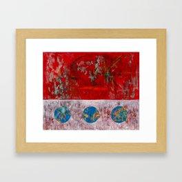 33 RPM Framed Art Print