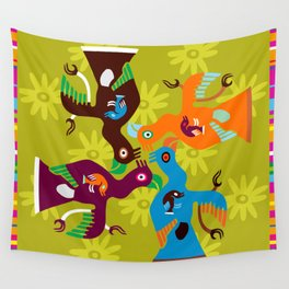 Paracas Pop I Wall Tapestry