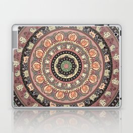 Cat Yoga Medallion Laptop & iPad Skin