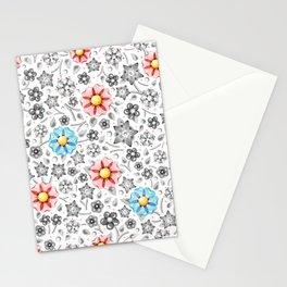 Millefiori Monotone Stationery Cards