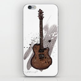 Western guitar iPhone Skin
