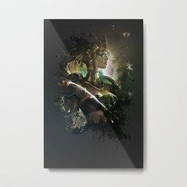League of Legends SUN GODDESS KARMA Metal Print
