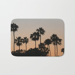 Palm Trees and Sunsets Bath Mat