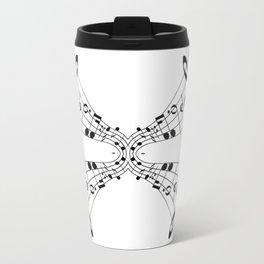 Bending Notes Travel Mug