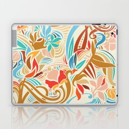 Abstract Florals Laptop & iPad Skin
