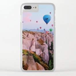 Cappadocia Sunrise Clear iPhone Case