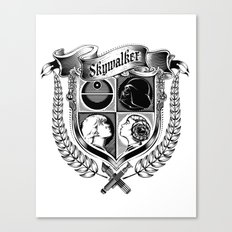Family Coat of Arms Canvas Print