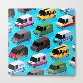 Secret life of Vans Metal Print