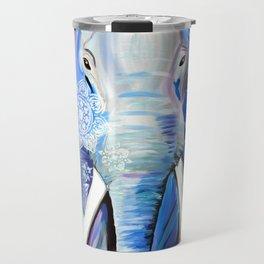 Boho Elephant Travel Mug