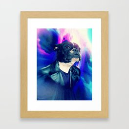 THE 9TH DOGTOR Framed Art Print