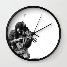 Sound of Love Wall Clock