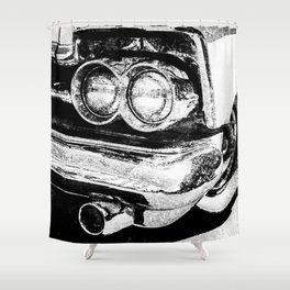 Classic American Car Shower Curtain