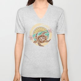 If We Tollerate This Eco Turtle Unisex V-Neck