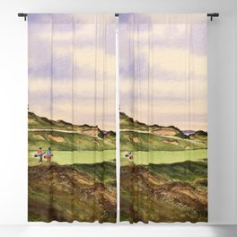 Whistling Straits Golf Course Hole 7 Blackout Curtain